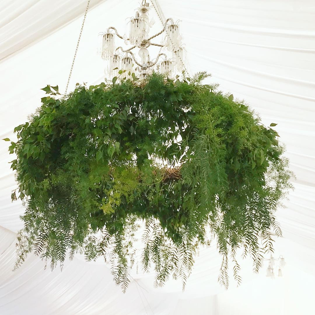 Natural Wreath / Green Installation