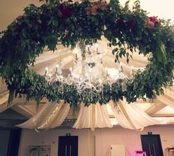 Greenery / Floral Chandelier