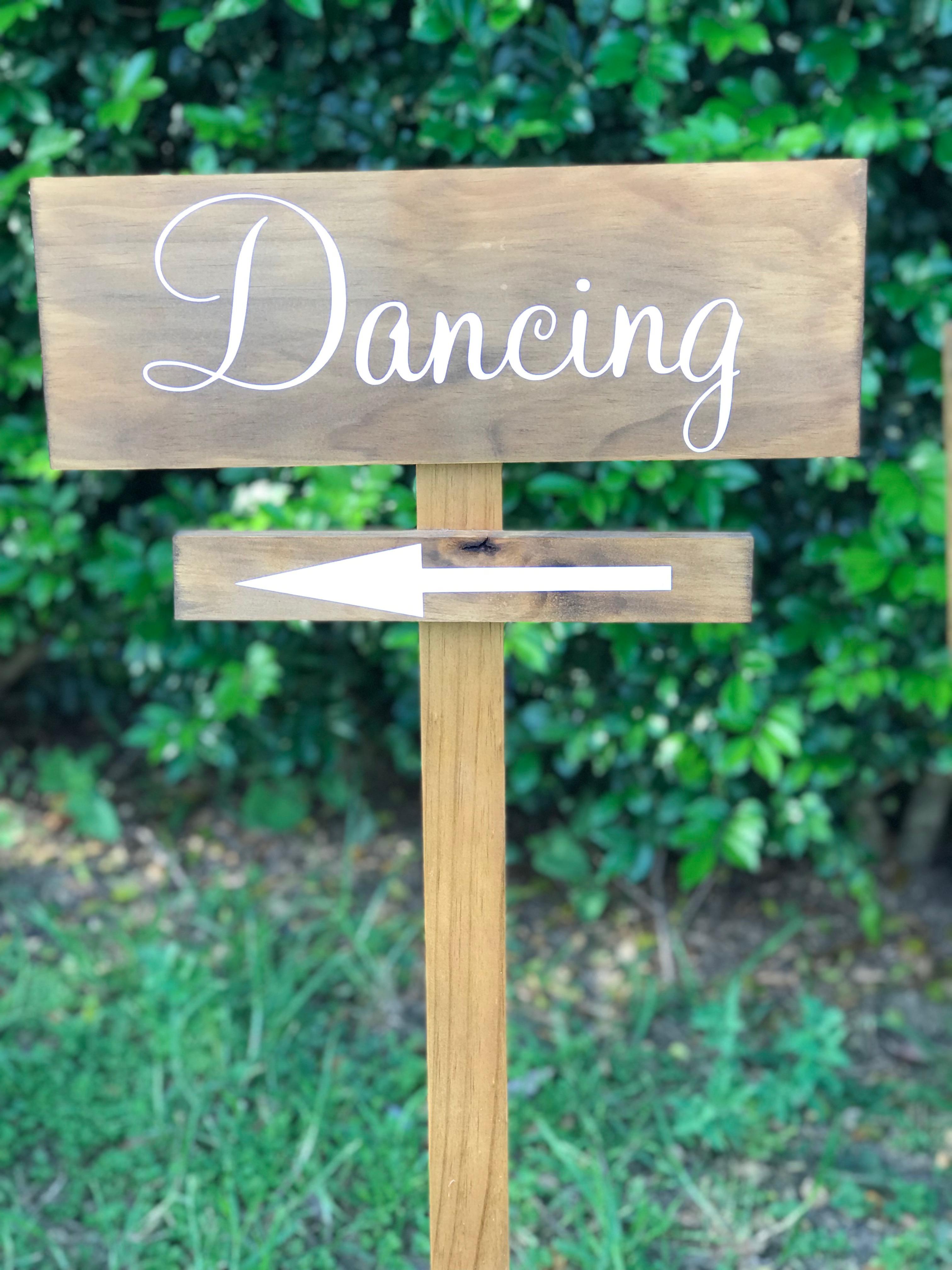 """""""Dancing"""" sign"""