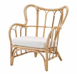 Single Rattan Seat