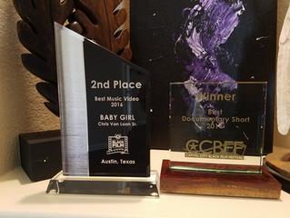 I'm a Film Festival award winner again...