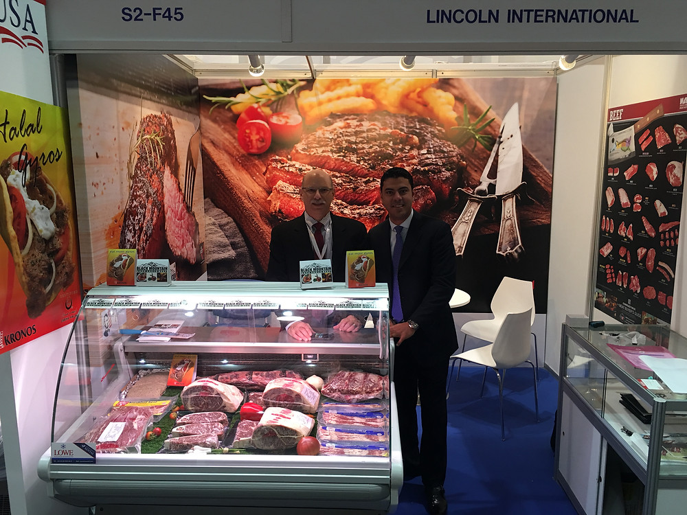 Gulffood Show 2016 booth featuring Black Mountain Beef