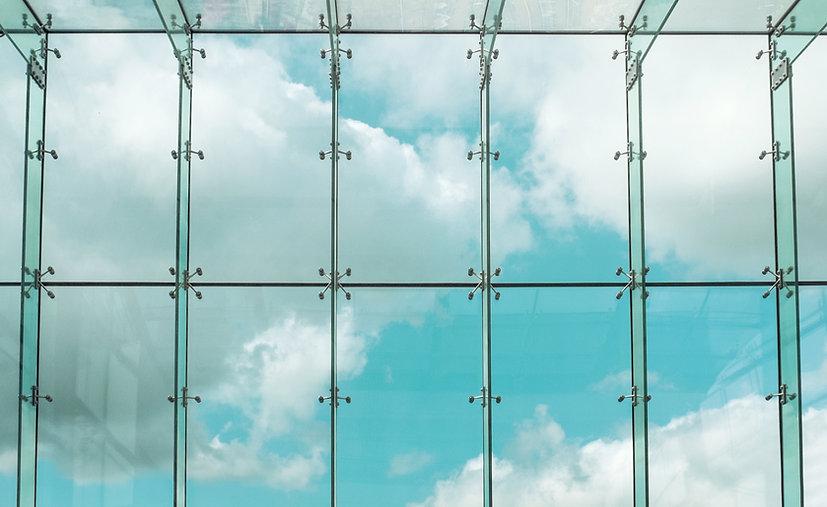ガラスの窓