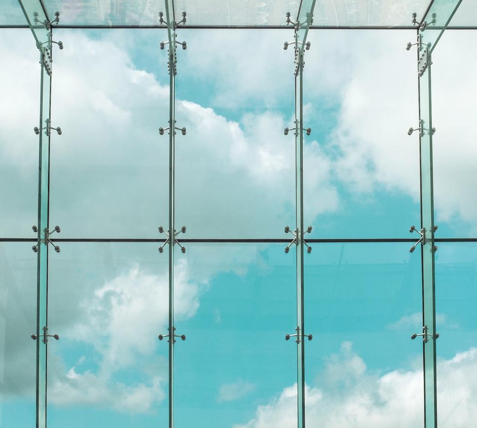 Ventana de vidrio