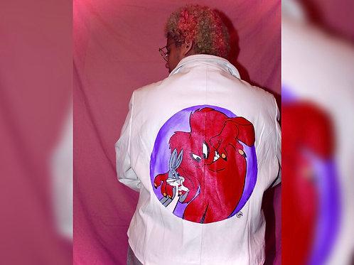 Gossamer x Bugs Bunny Leather Jacket