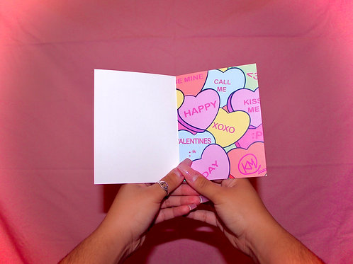 Be Mine Valentine's Card