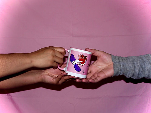 Be Mine x Candy Hearts Mug