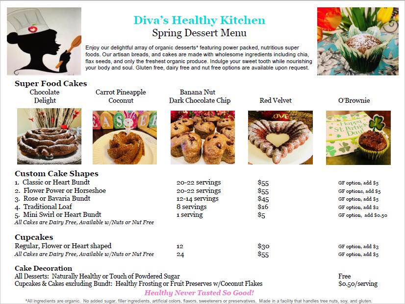 Diva's Healthy Kitchen by Maude