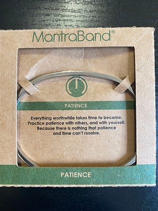 """Patience"" MantraBand Jewelry"