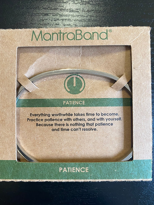 """Patience"" MantraBand Jewelry"