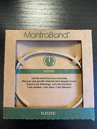 """""""Blessed"""" MantraBand Bracelet"""