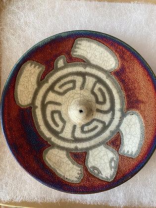 """""""Turtle"""" Ceramic Incense Burner"""