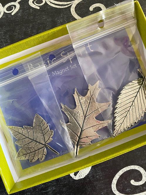 """Basic Spirit """"Leaves"""" Magnet Set"""