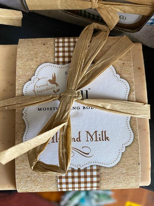 Almond Milk Scented Moisturizing Soap