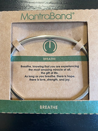 """Breathe"" MantraBand Bracelet"