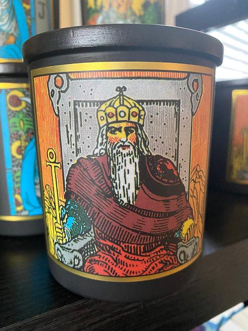 """""""Emperor"""" Tarot Candle"""