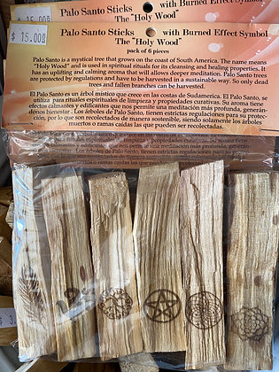 Palo Santo Sticks/Packages of Six