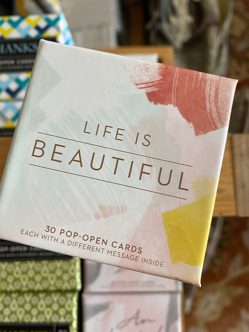 """Life Is Beautiful"" Set"