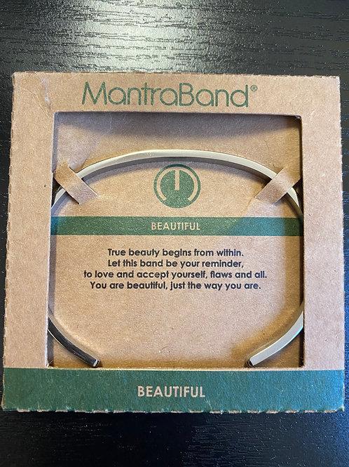 """""""Beautiful"""" MantraBand Bracelet"""