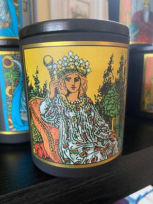 """""""Empress"""" Tarot Candle"""