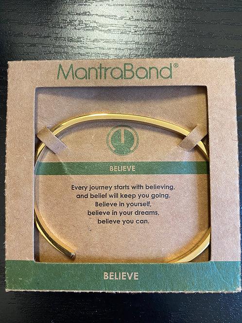 """Believe"" MantraBand Bracelet"
