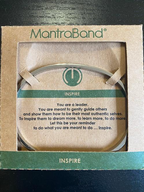 """Inspire"" MantraBand Bracelet"