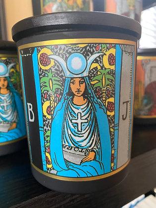 """""""High Priestess"""" Tarot Candle"""