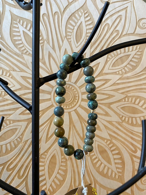 African Turquoise-Stone Of Transformation