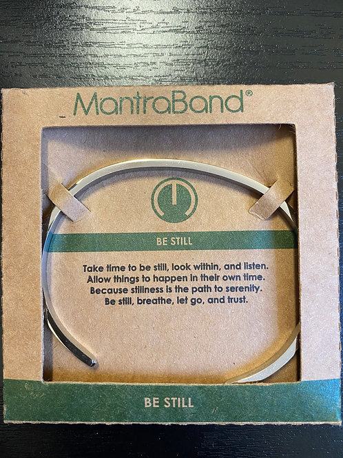 """Be Still"" MantraBand Bracelet"