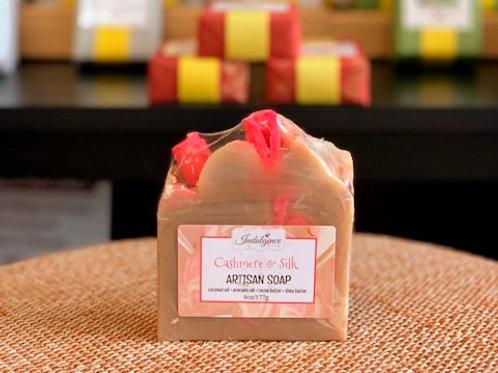 Cashmere & Silk Artisan Soap
