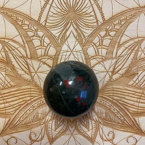 African Bloodstone Sphere
