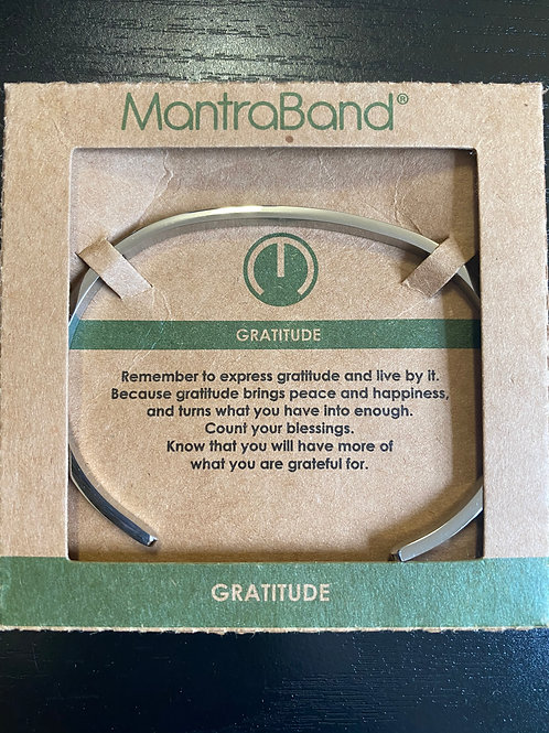 """Gratitude"" MantraBand Bracelet"