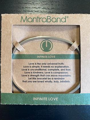 """Infinite Love"" MantraBand Bracelet"