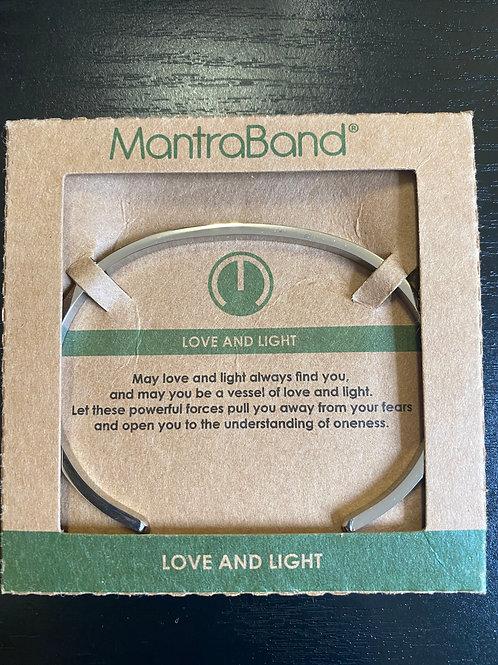 """Love And Light"" MantraBand Bracelet"
