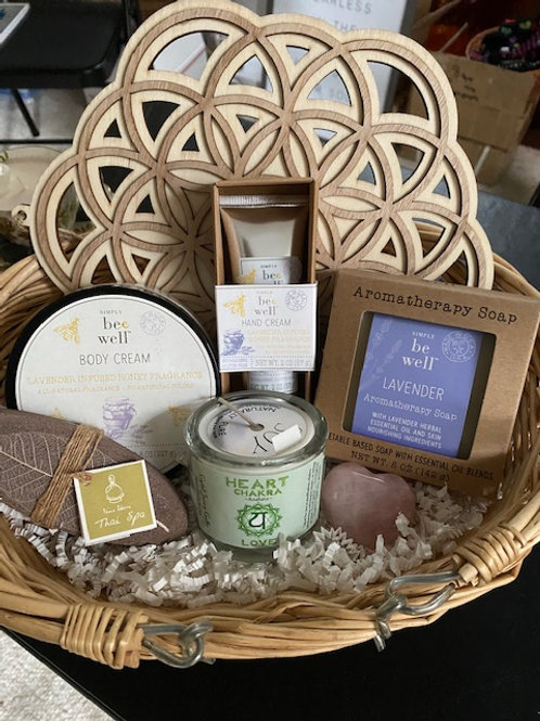 RELAX and REJUVENATE Gift Basket