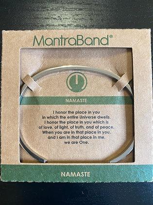 """""""Namaste"""" MantraBand Bracelet"""