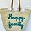 Thumbnail: Panier Happy family turquoise