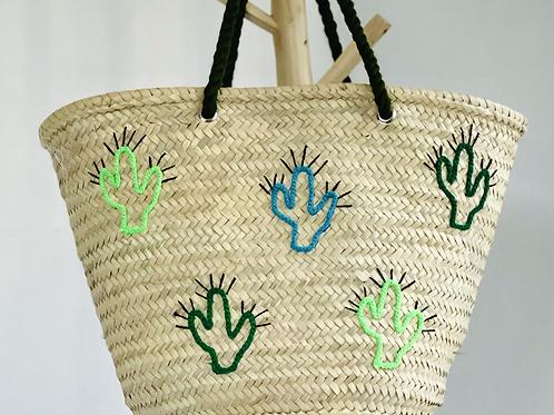 Cactus anses vert foncé