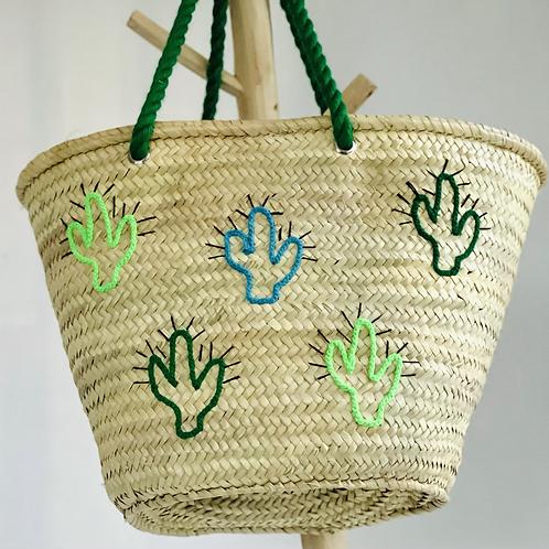 Cactus anses vert gazon