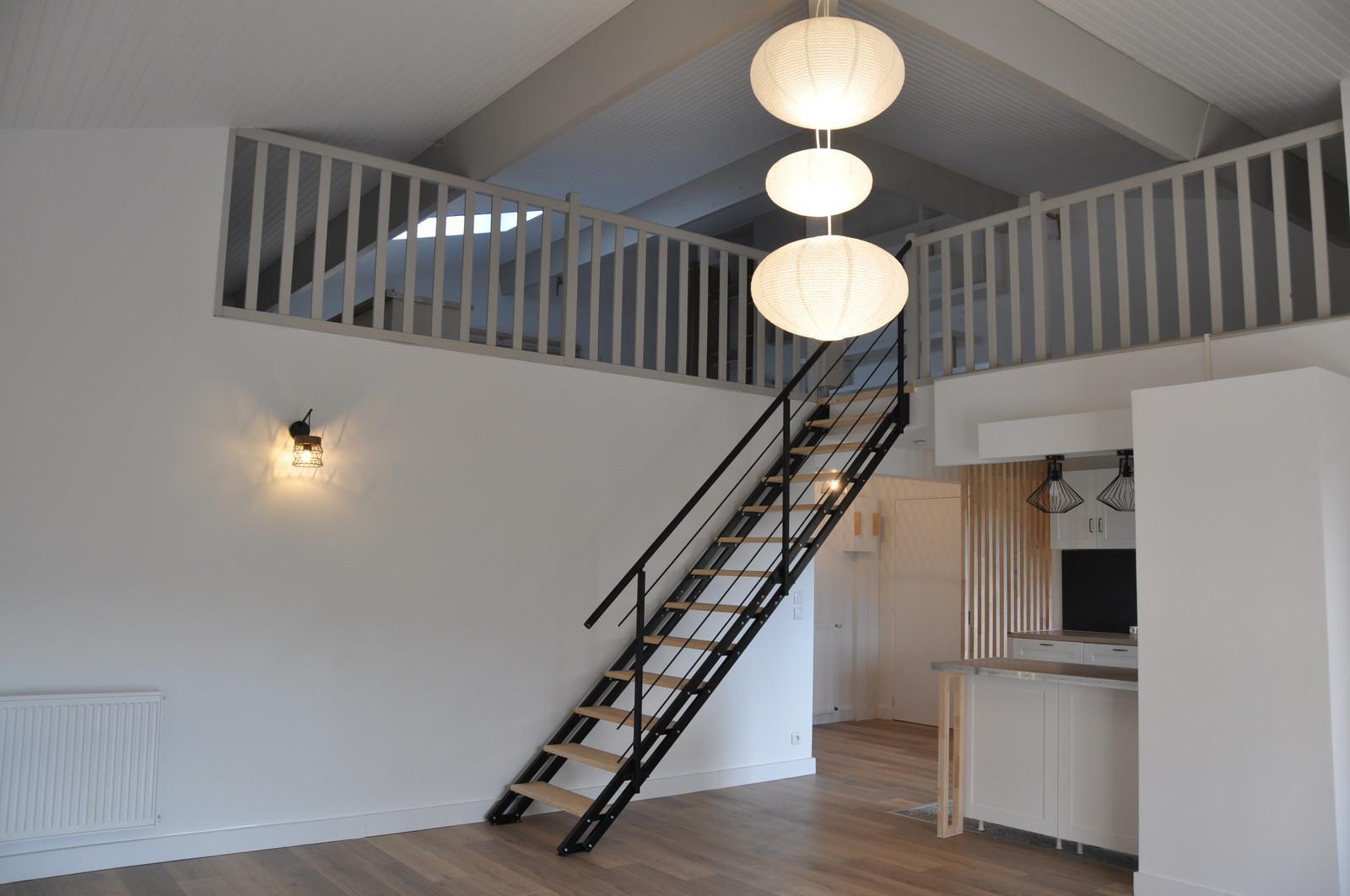 Escalier Dans Un Salon vue de l'escalier depuis le salon