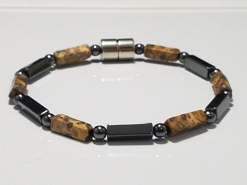 Hematite and Leopard Skin Jasper