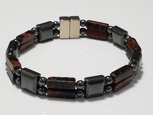 Hematite and Mahogany Obsidian