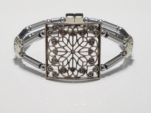 Large Silver Pendant