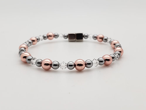 Rose Gold with Swarovski Birthstones