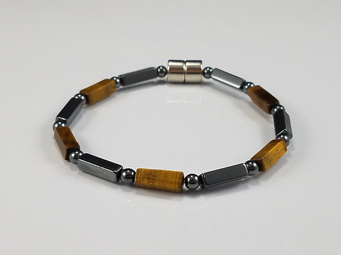 Hematite and Tiger's Eye