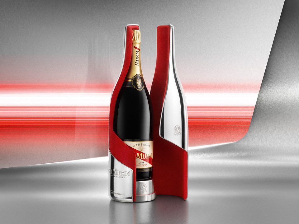 G.H MUMM CHAMPAGNER PACKAGING