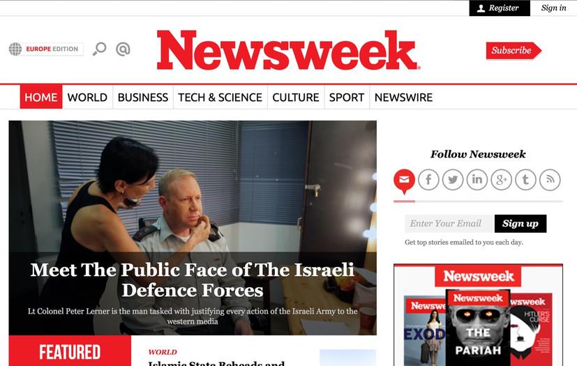 Newsweek profile