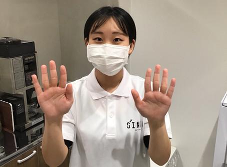 SINKA GYMで行なっている手洗い方法