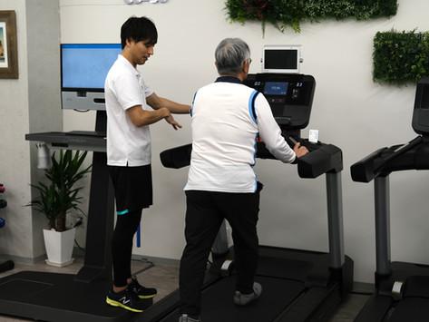 【目的別トレーニング】歩行改善と体脂肪の燃焼
