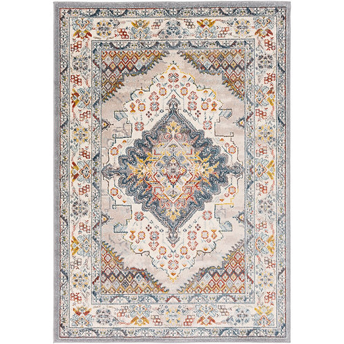BOHO LOOK COTTON PRINTED RUG